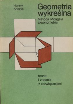 Geometria wykreślna Metoda Mongea aksonometria