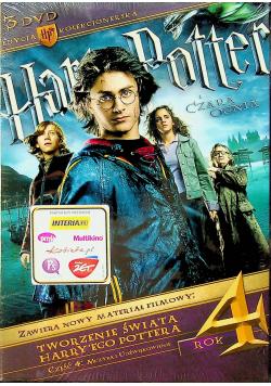 Harry Potter Czara Ognia Edycja kolekcjonerska 3 płytowa płyta DVD NOWA