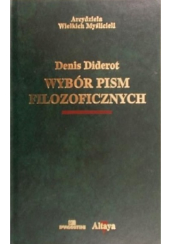 Diderot Wybór pism filozoficznych