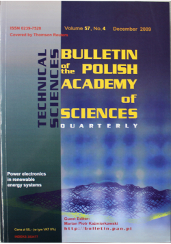 Bulletin of the polish academy of sciences volume 57 no 4