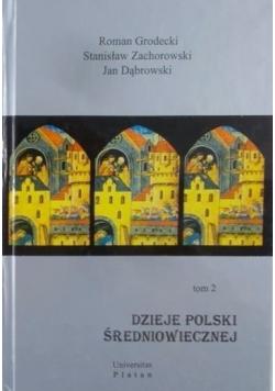 Dzieje Polski średniowiecznej , Tom 2