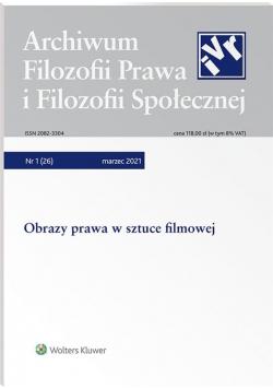 Archiwum Filozofii Prawa i Filozofii.. 1/2021 (26)