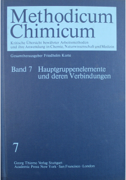 Methodicum Chimicum Band 7