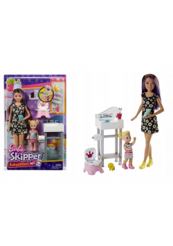 Barbie Skipper Babysitters FJB01