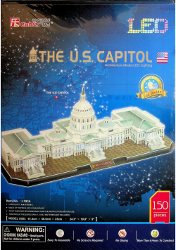 Puzzle 3D LED The Capitol Hill Nowa