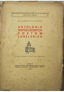 Antologia współczesnych poetów Lubelskich 1939 r