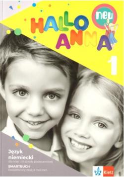 Hallo Anna Neu 1 ćw. roz.+ online LEKTORKLETT