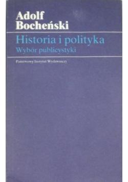 Historia polityki Wybór publicystyki