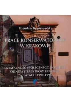 Prace konserwatorskie w Krakowie