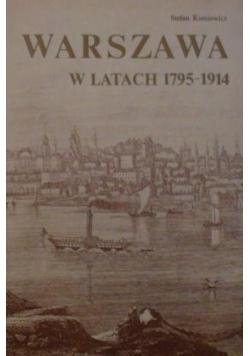 Warszawa w latach 1795 1914
