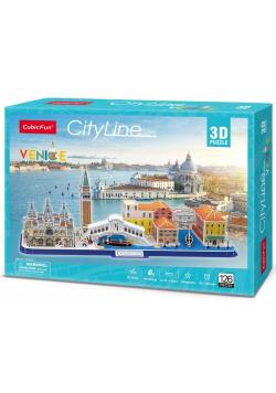 Puzzle 3D Cityline Wenecja