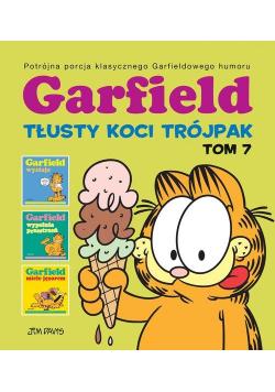 Garfield Tłusty koci trójpak Tom 7