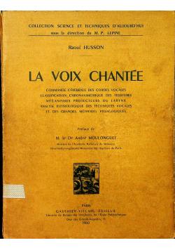 La voix chantee 1960 r.