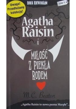 Agatha Raisin i miłość z piekła rodem