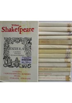 Shakespeare Dzieła 14 tomów