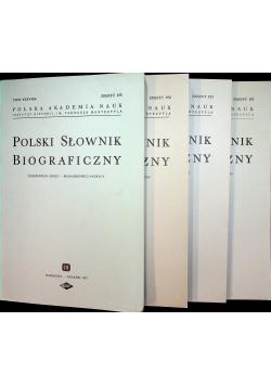 Polski Słownik Biograficzny Tom XXXVII 4 części