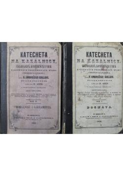 Katecheta na kazalnicy Tom I i II ok 1860 r.