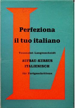 Prefeziona il tuo italiano