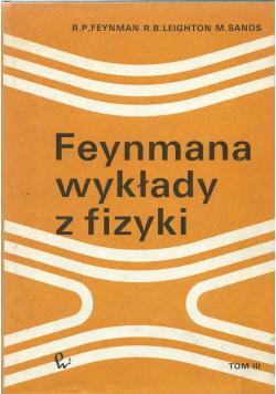 Feynmana wykłady z fizyki Tom III