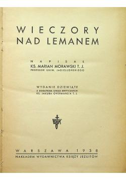 Wieczory nad Lemanem 1938r.