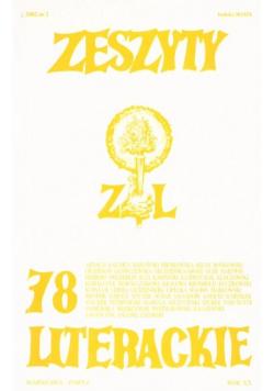 Zeszyty literackie 78 2/2002