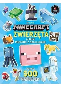 Minecraft. Zwierzęta. Album przygód.. w.2020