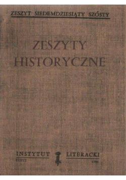 Zeszyty Historyczne Zeszyt siedemdziesiąty szósty