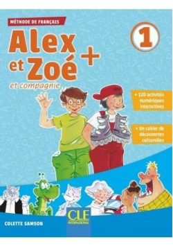 Alex et Zoe plus 1 podręcznik + CD MP3