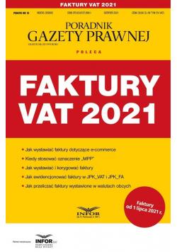 Faktury 2021. Podatki 10/2021