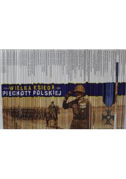 Wielka księga piechoty polskiej 1918 1939 62 tomy