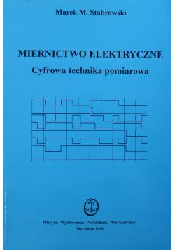 Miernictwo elektryczne Cyfrowa technika pomiarowa