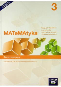 Matematyka 3 Podręcznik do szkół ponadgimnazjalnych Zakres rozszerzony