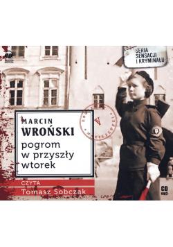 Pogrom w przyszły wtorek audiobook