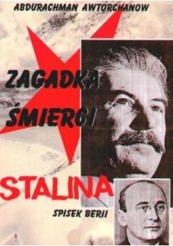 Zagadka śmierci Stalina Spisek Berii