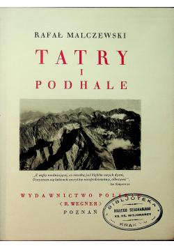 Tatry i Podhale 1935 r.