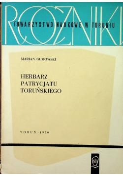 Herbarz patrycjatu Toruńskiego