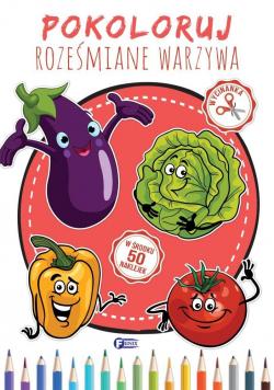 Pokoloruj Roześmiane Warzywa