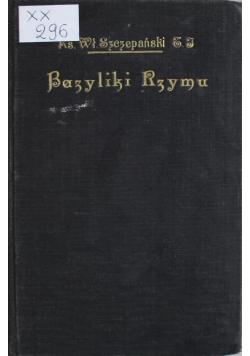 Bazyliki Rzymu 1925r