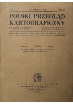 Polski Przegląd Kartograficzny Nr 40 1932 r.