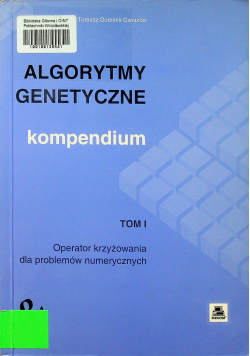 Algorytmy genetyczne Kompendium