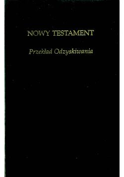 Nowy Testament Przekład odzyskiwania