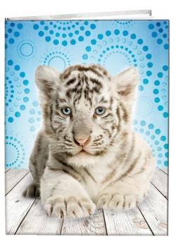 Notes gładki 13x18cm Tygrys