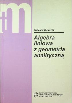 Algebra liniowa z geometrią analityczną