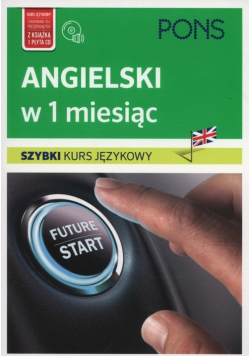 Angielski w 1 miesiąc Szybki kurs językowy + CD