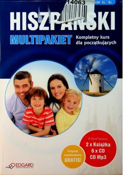Hiszpański Multipakiet Kompletny kurs dla początkujących 2 książki + 6 płyt CD