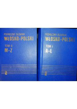 Podręczny słownik Włosko - Polski II Tomy