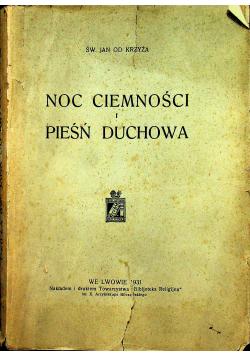 Noc ciemności i pieśń duchowa 1931r.