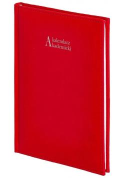 Kalendarz akademicki A5 2021/2022 Vivella czerwony