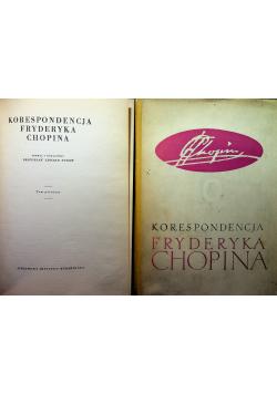 Korespondencja Fryderyka Chopina tom 1 i 2