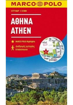 Plan Miasta Marco Polo. Ateny w.2018